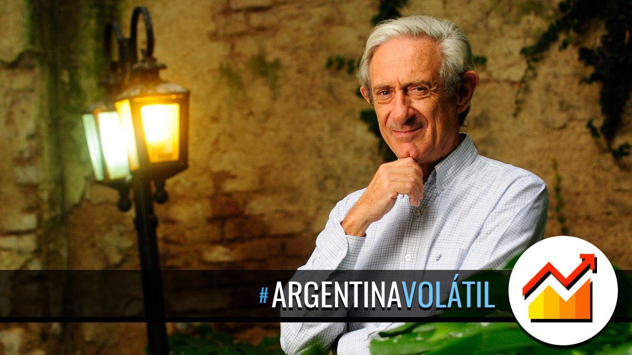 Juan Jose Llach para argentina volatil