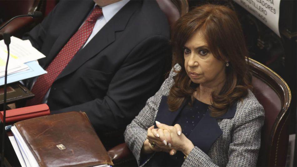 Cristina Fernández de Kirchner, enojada con el juez Claudio Bonadio