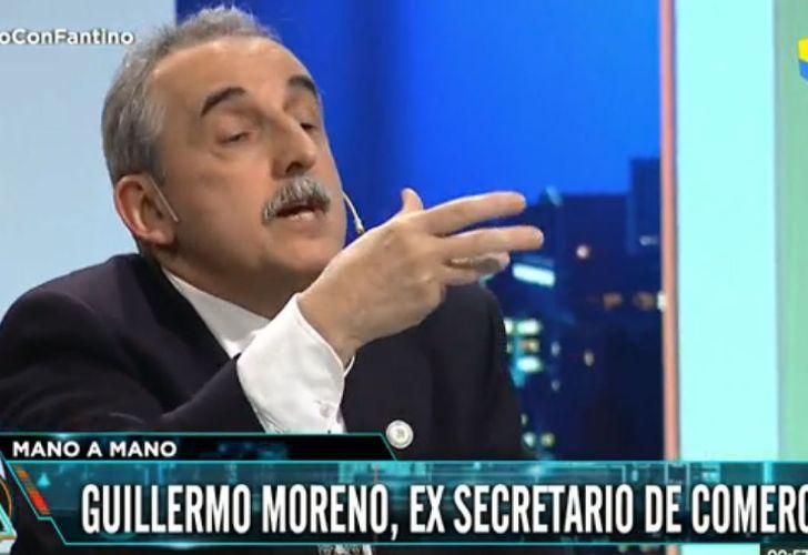 Moreno estuvo con Fantino en