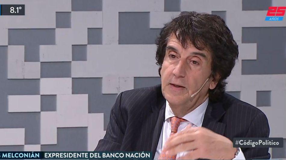 Carlos Melconian estuvo en Código Político.