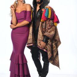 Gabo Usandivaras y Rebeca Vazquez
