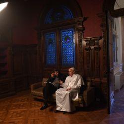 Marcelo y El Papa
