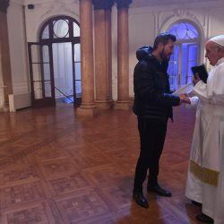 Marcelo y El Papa 2