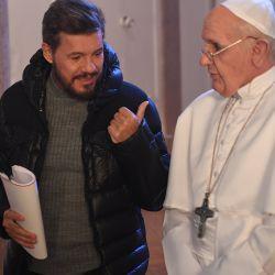 Marcelo y El Papa 4