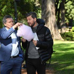 Marcelo y Macri 1