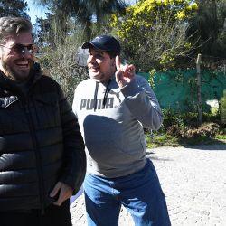 Marcelo y Maradona 1