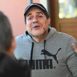 Marcelo y Maradona 3