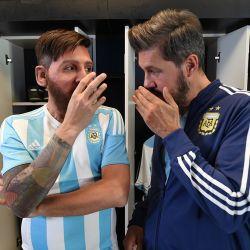 Marcelo y Messi 2
