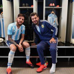 Marcelo y Messi 3