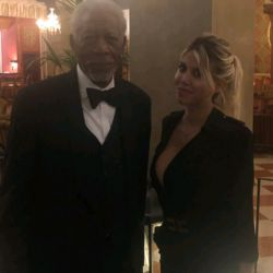 Morgan Freeman_Wanda Nara (3)