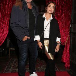 Romina Pigretti y esposo