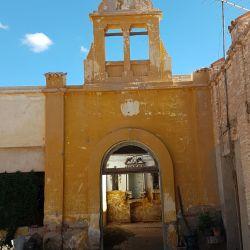 Ruinas de la capilla original de Santa Teresita