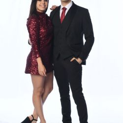 Sofía Morandi y Julián Serrano