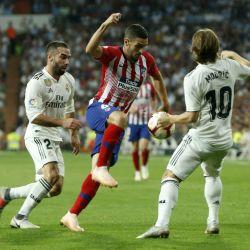 real atletico derbi madrid liga españa ap 2