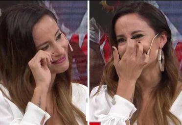Lourdes Sánchez se quebró en el vivo de LAM.