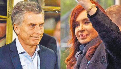 Extremos. Quienes los apoyan polarizan la sociedad. Macri vive un fuerte deterioro de su figura pública. Cristina Kirchner crece, pero tiene un techo de aprobación casi imposible de perforar.
