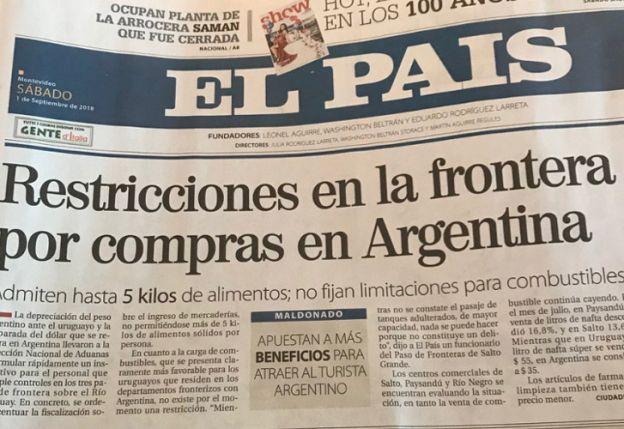 Uruguay, preocupado por Argentina - opinion