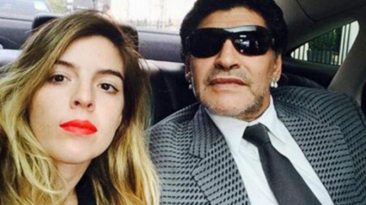 El enojo y fuerte descargo de Dalma Maradona por defender a su papá