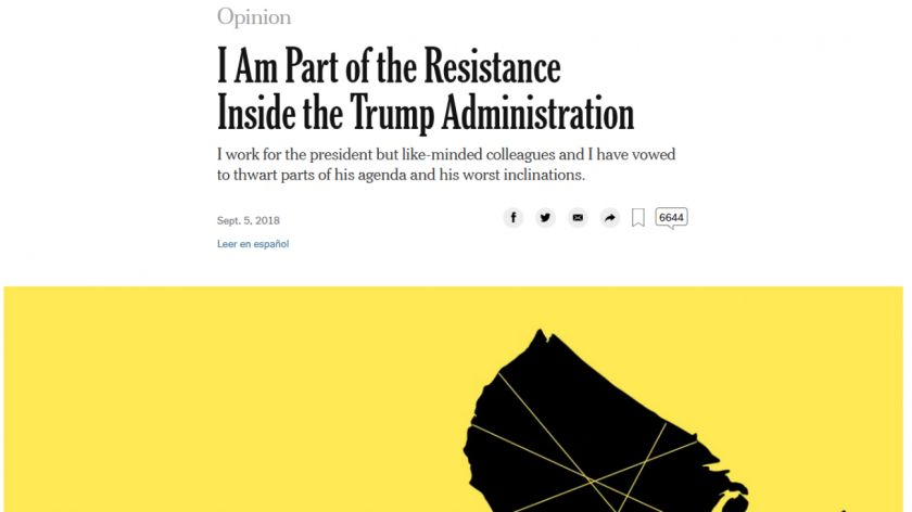 Resultado de imagen para soy parte de la resistencia The New York Times