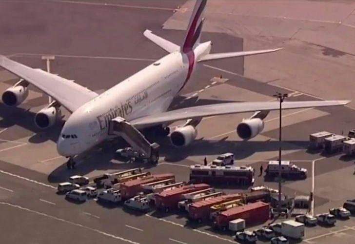 vuelo procedente de Dubai