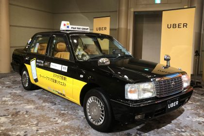 Uber Seals First Japan Taxi Deal