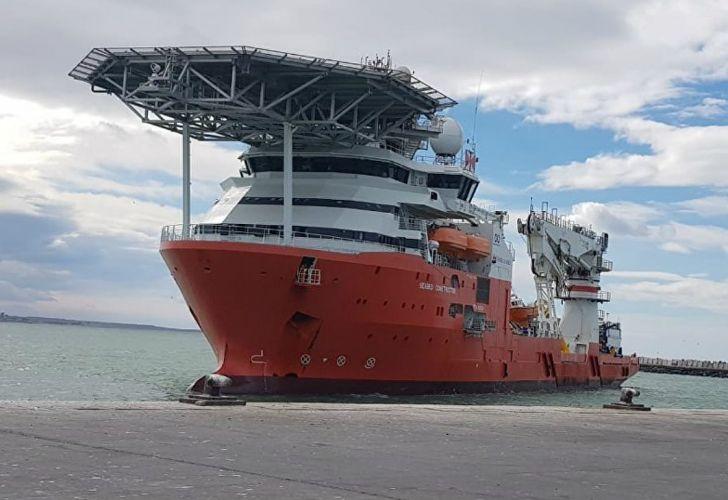 buque noruego submarino