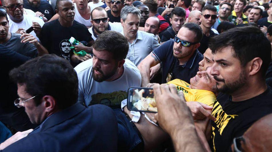 El ataque contra Jair Bolsonaro en Juiz de Fora