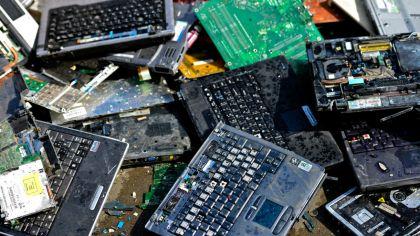 basura electronica