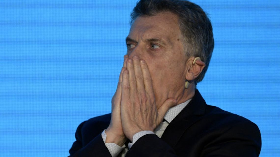 Mauricio Macri is in a delicate situation.