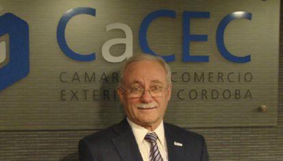 """RECLAMO. """"El Gobierno provincial debería cumplir con el Pacto Fiscal"""", señala el vicepresidente de la CaCEC."""