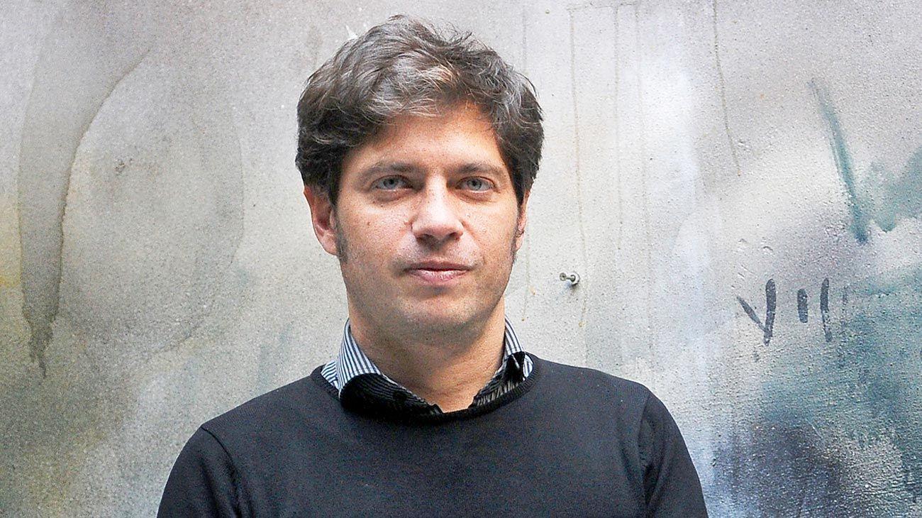 Candidato. El ex ministro de Economía comenzó a recorrer la provincia de Buenos Aires.