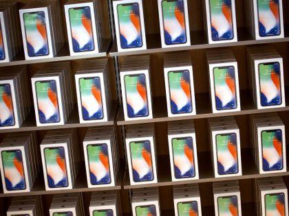 Apple Inc. iPhone X Goes On Sale