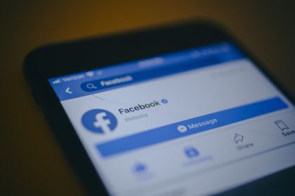 Facebook App And Logo As Shares Plunge
