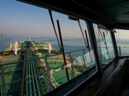 Crude Oil Shipments In The Persian Gulf