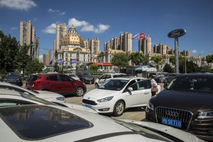Ford Dealership in Shanghai as U.S.-China Impasse Deepens Over Trade War