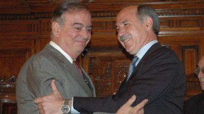 Enrique Petracchi Ricardo Lorenzetti bigote presidente de la Corte Suprema