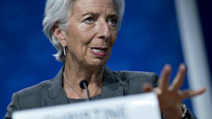 La directora del FMI, Christine Lagarde. 20180911