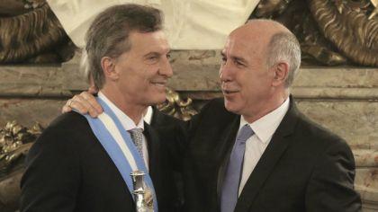Mauricio Macri y Ricardo Lorenzetti.