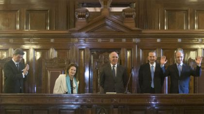 ministros corte suprema Rosenkrantz presidente rosatti highton de nolasco lorenzetti maqueda