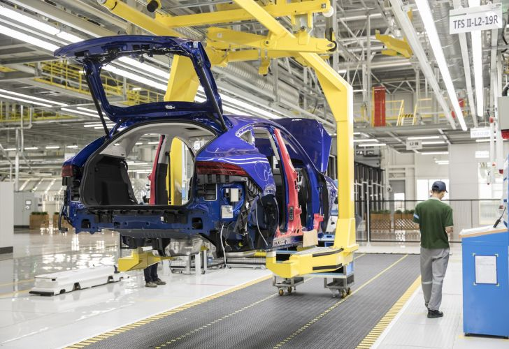Chery Jaguar Land Rover Plant To Increase Production As Phase II Opens