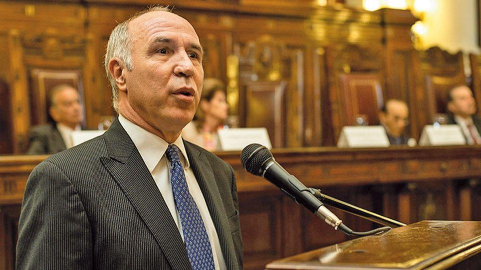 Ricardo Lorenzetti, presidente de la corte suprema de justicia