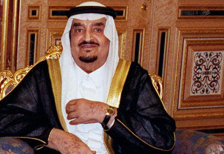 El fallecido rey Fahd Bin Abdulaziz Al-Saud.