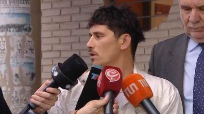 Daniel Oyarzún, tras el veredicto