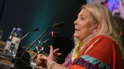 La diputada Elisa Carrió.
