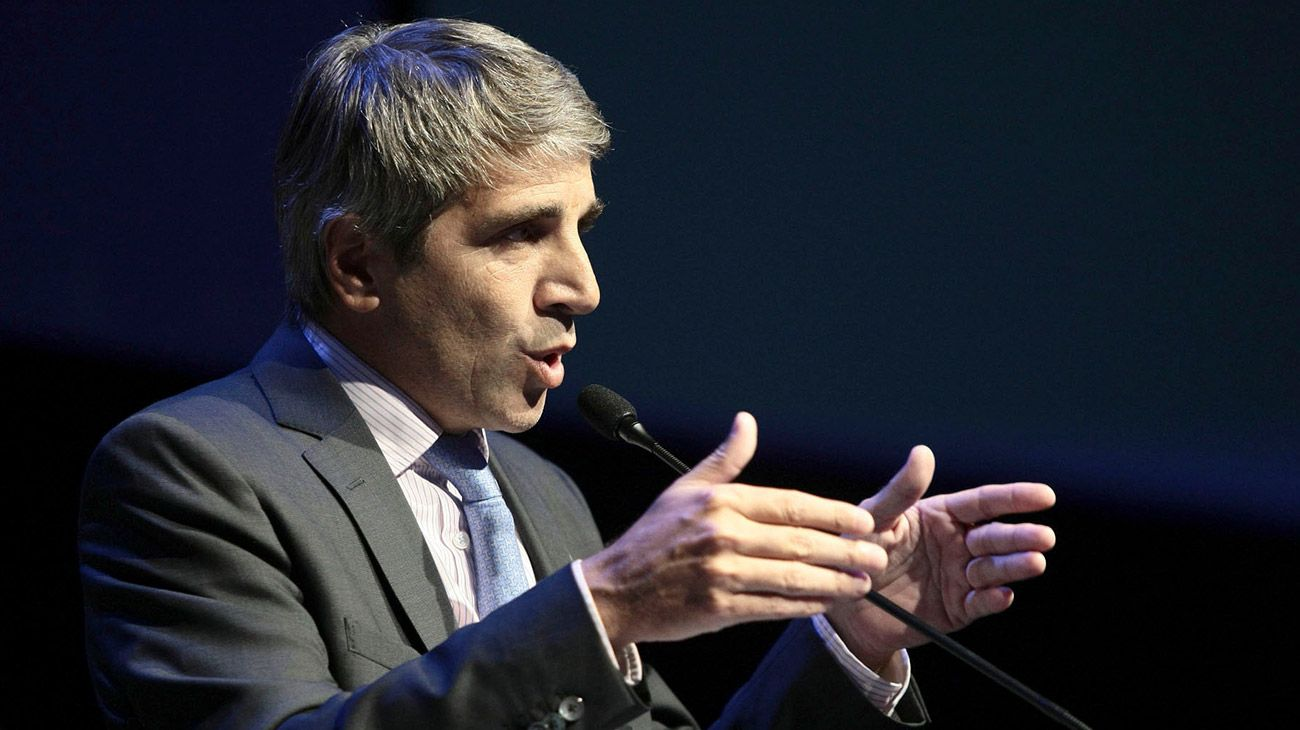 Luis Caputo, presidente del Banco Central