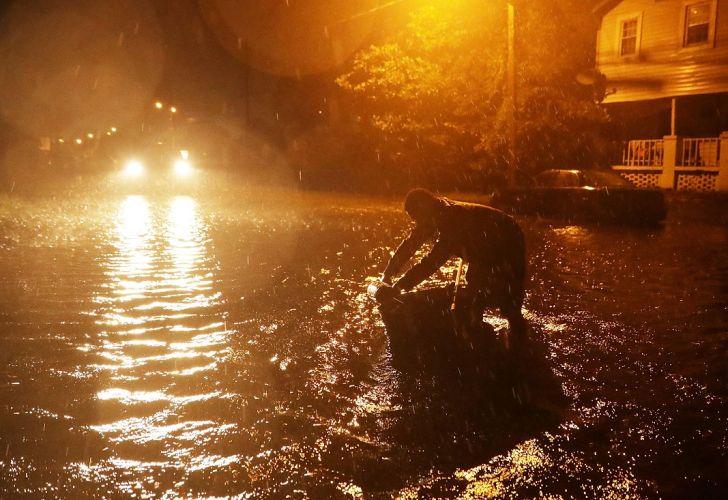 El huracán Florence