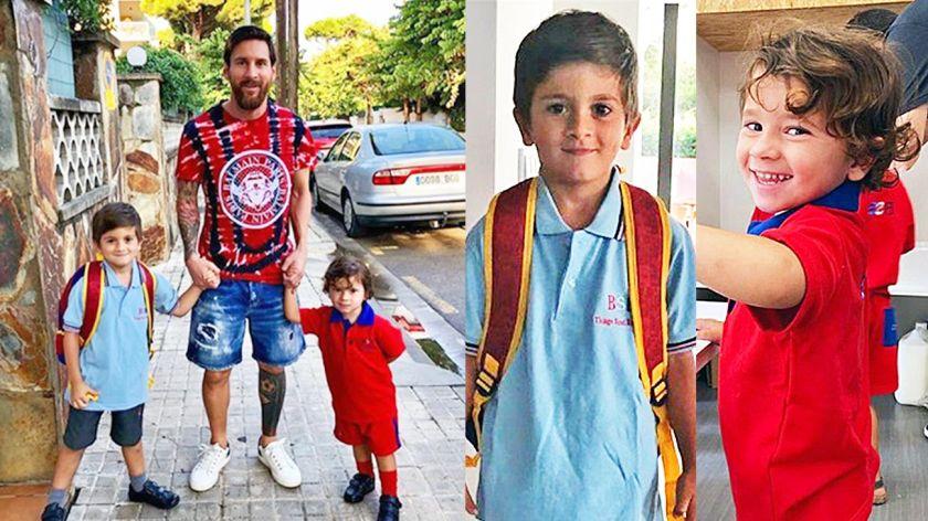 Messi eligió una escuela inglesa para la educación de sus hijos ... 95efcb7146df7