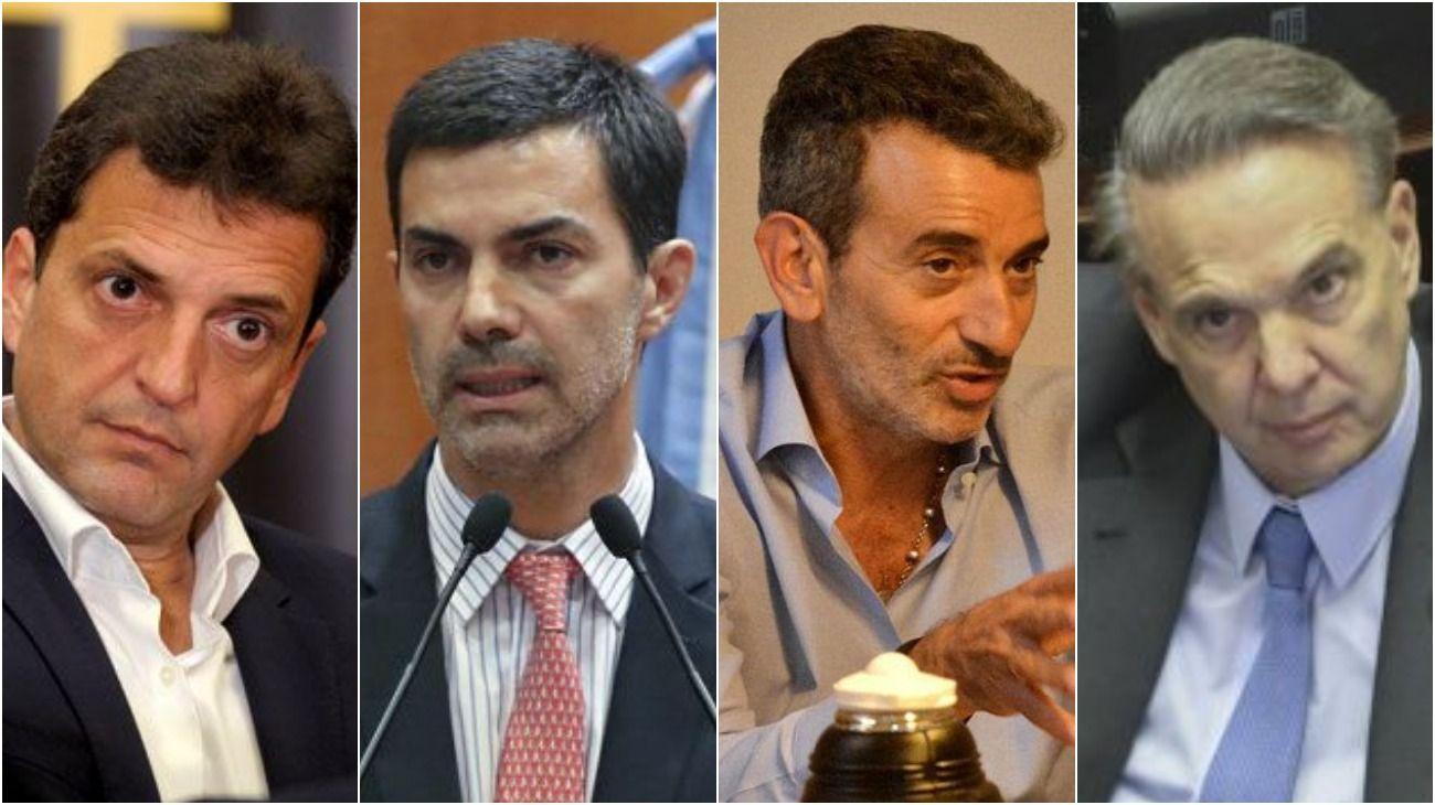 La carrera de obastáculos al 2019. Massa, Urtubey, Randazzo y Pichetto.
