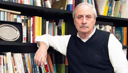 Alberto Díaz. Editó más de 4 mil libros en casi cincuenta años de carrera. Borges, Quino, Di Benedetto, Gelman, Piglia y Saer fueron algunos de los autores que publicó.