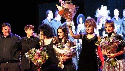 2do encuentro de Experiencia Piazzola con Fabi Cantilo, Julieta Venegas, Hilda Lizarazu, Ligia Piro y Julia Zenko.